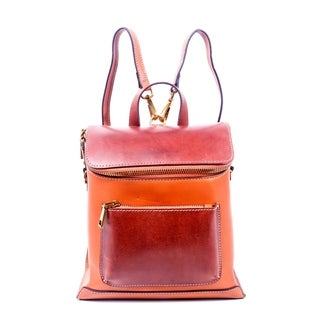 Foressence Amy Genuine Leather Convertible Backpack
