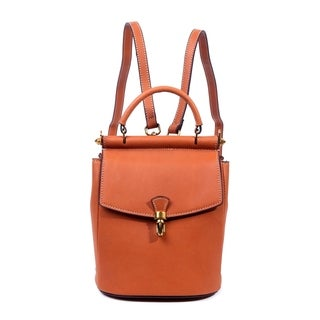 Foressence Ava Genuine Leather Convertible Backpack