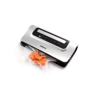 INNOKA Vacuum Sealer, Automatic Food Sealer Machine with Starter Bag Roll Set for Dry/Moist Food Preserve & LED Indicator