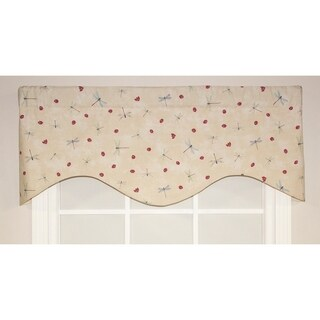 RLF Home Fly Away Cornice Window Valance - Tapestry