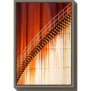 Canvas Art Framed 'Art stairways ' by Marco Zeeman