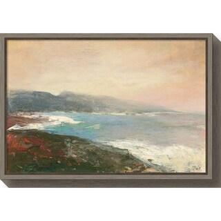 Canvas Art Framed 'Lands End Crop' by Julia Purinton