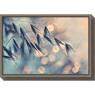 Canvas Art Framed 'Pastel Grains' by Dimitar Lazarov - - 16 x 23.5