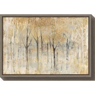 Canvas Art Framed 'Seasons End Gold' by Avery Tillmon
