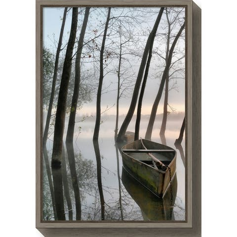 Canvas Art Framed 'Serene Dawn' by Rui David