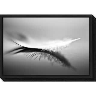 Canvas Art Framed 'White' by Olinda Coutinho