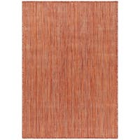 Safavieh Beach House Transitional Geometric Rust Rug - 9' x 12'