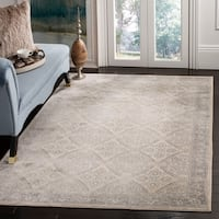 Safavieh Brentwood Traditional Oriental Cream / Grey Rug - 8' x 10'