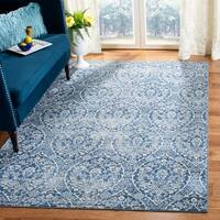 Safavieh Brentwood Traditional Oriental Navy / Light Grey Rug - 9' x 12'