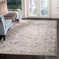 Safavieh Brentwood Traditional Oriental Light Grey / Blue Rug - 8' x 10'