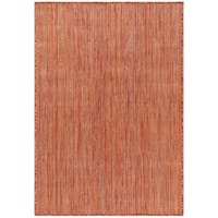 Safavieh Beach House Transitional Geometric Rust Rug - 8' x 10'