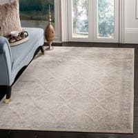 Safavieh Brentwood Traditional Oriental Cream / Grey Rug - 9' x 12'