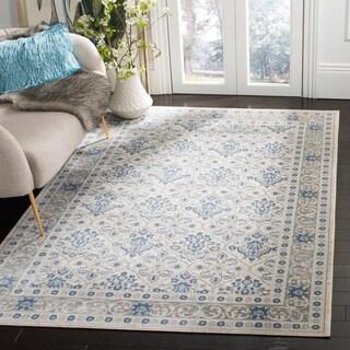 Safavieh Brentwood Traditional Oriental Light Grey / Blue Rug - 8' X 10'