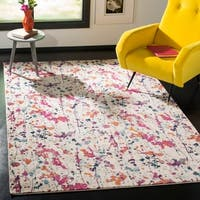 Safavieh Evoke Abstract Expression Ivory / Pink Rug - 8' x 10'