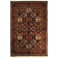 Safavieh Hand-Knotted Bakhtiari Traditional Oriental Ivory / Red Wool Rug - 9' x 12'