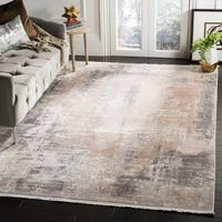 Safavieh Eclipse Vintage Abstract Beige / Brown Viscose Rug - 8' x 10'