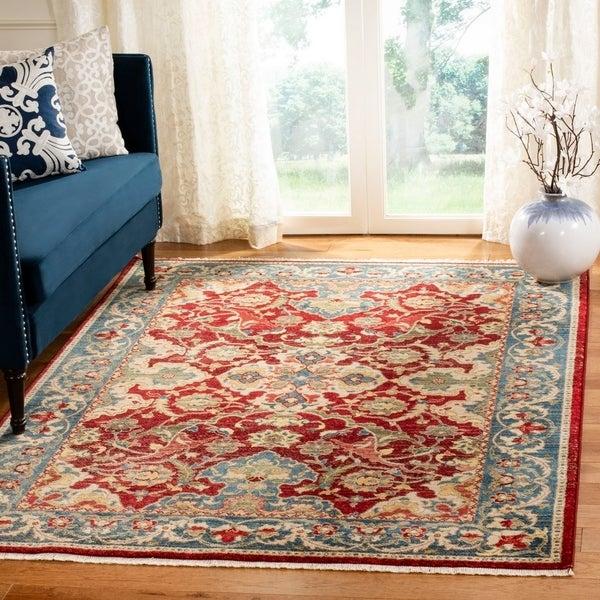 Shop Safavieh Kashan Transitional Oriental Red Blue Rug