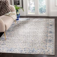Safavieh Brentwood Traditional Oriental Light Grey / Blue Rug - 9' x 12'