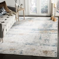Safavieh Eclipse Vintage Abstract Beige / Light Grey Acrylic Rug - 9' x 12'