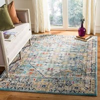 Safavieh Monaco Bohemian Chic Blue / Light Grey Rug - 8' x 10'