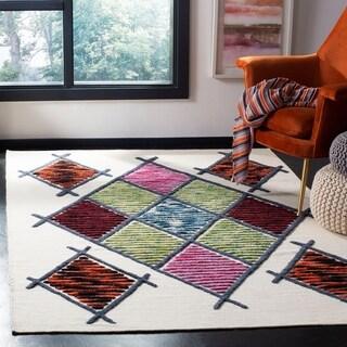 Safavieh Hand-knotted Kenya Karlyn Southwestern Tribal Wool Rug