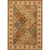 Safavieh Handmade Heritage Traditional Oriental Beige / Beige Wool Rug - 11' x 17'