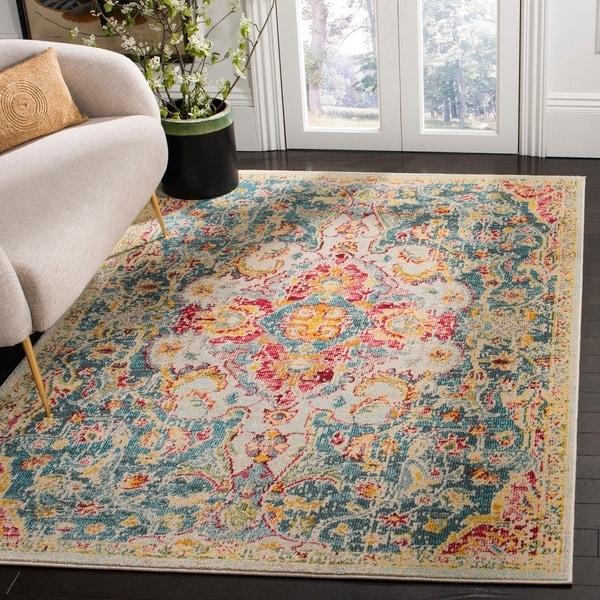Shop Safavieh Phoenix Bohemian & Eclectic Oriental Blue