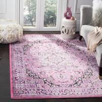 Safavieh Skyler Vintage Geometric Pink / Ivory Rug - 8' x 10'