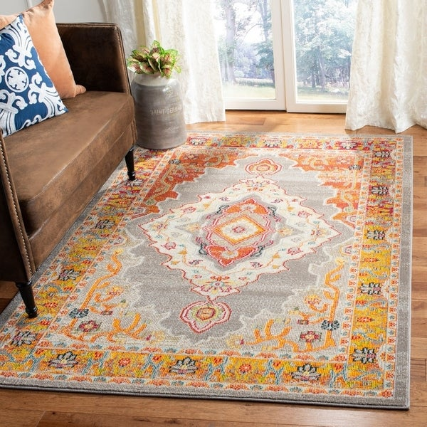Shop Safavieh Phoenix Bohemian & Eclectic Oriental Orange