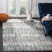 Safavieh Skyler Vintage Geometric Grey / Blue Rug - 8' x 10'