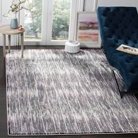 Safavieh Skyler Vintage Geometric Grey / Purple Rug - 9' x 12'