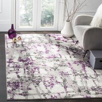 Safavieh Skyler Vintage Geometric Grey / Purple Rug - 8' x 10'