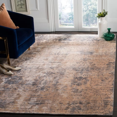 Safavieh Couture Hand-knotted Tibetan Ingelise Modern Wool Rug