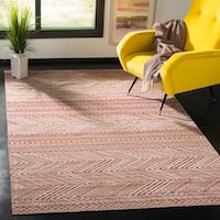 Safavieh Montage Bohemian & Eclectic Geometric Pink Rug - 8' x 10'
