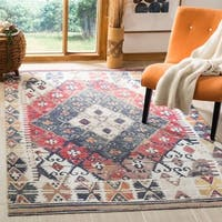 Safavieh Montage Bohemian & Eclectic Geometric Rust Rug - 9' x 12'