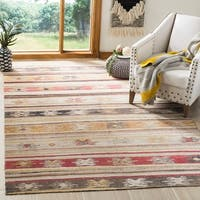 Safavieh Montage Bohemian & Eclectic Geometric Taupe Rug - 9' x 12'