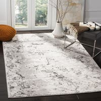 Safavieh Skyler Vintage Abstract Grey / Ivory Rug - 9' x 12'