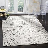 Safavieh Skyler Vintage Abstract Grey / Ivory Rug - 8' x 10'