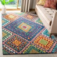 Safavieh Handmade Aspen Kira Boho Tribal Wool Rug