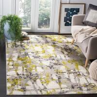 Safavieh Skyler Vintage Geometric Grey / Green Rug - 8' x 10'