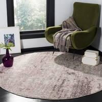 Safavieh Adirondack Vintage Oriental Light Grey / Purple Rug - 8' x 8' Round