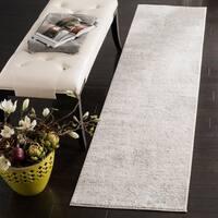 Safavieh Princeton Vintage Geometric Beige / Grey Polyester Rug - 2' x 10'