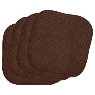 Bon Appetite 4-Piece Cushioned Chair Pad Set