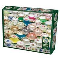 Cobble Hill: Teacups 1000 Piece Jigsaw Puzzle