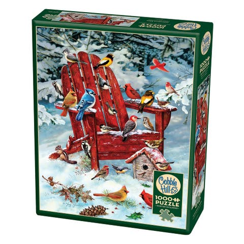 Cobble Hill: Adirondack Birds 1000 Piece Jigsaw Puzzle