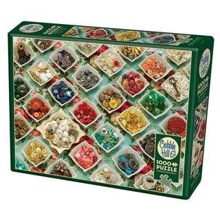 Cobble Hill: Grandma's Buttons 1000 Piece Jigsaw Puzzle Grandma's Buttons
