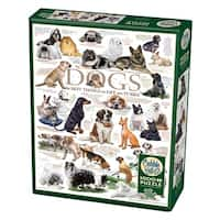 Cobble Hill: Dog Quotes 1000 Piece Jigsaw Puzzle
