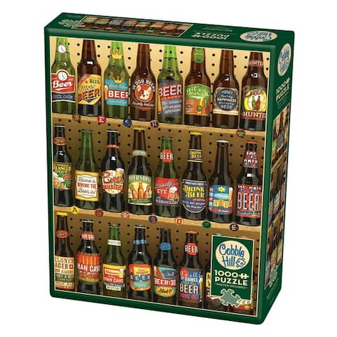 Cobble Hill: Beer Collection 1000 Piece Jigsaw Puzzle