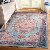 Safavieh Harmony Vintage Oriental Blue / Purple Rug - 10' x 14'