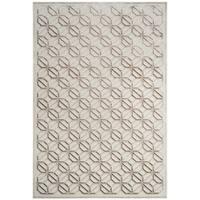 Safavieh Paradise Contemporary Geometric Silver Viscose Rug - 9' x 12'